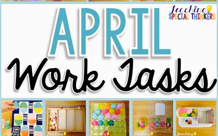 April Work Tasks (Caution: Egg Overload)