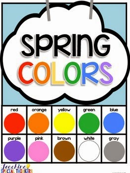 Spring Colors Adapted Book FREEBIE!
