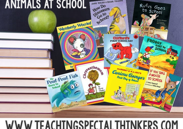 Back to School Books for Week 2: Animals at School