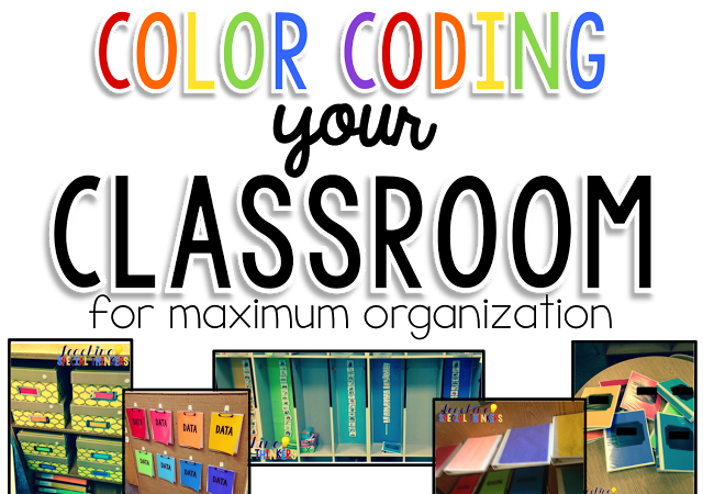 Color Coding Your Classroom For MAXIMUM ORGANIZATION