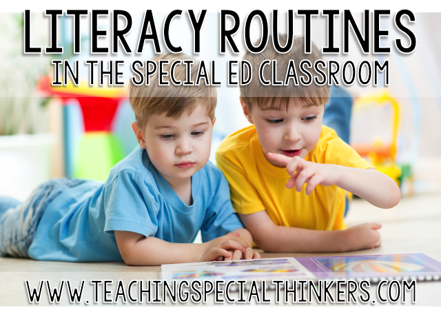 Literacy Routines in a Special Education Classroom