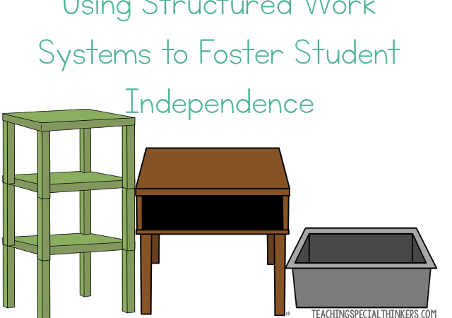 Using Structured Work Systems to Foster Student Independence