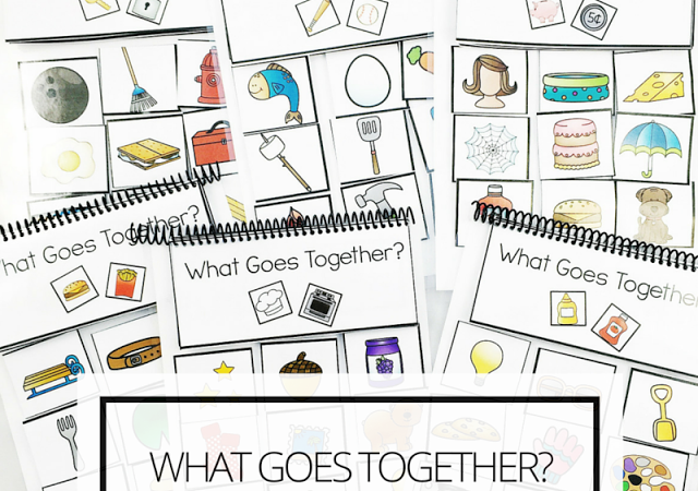 What Goes Together? Association Flipbooks