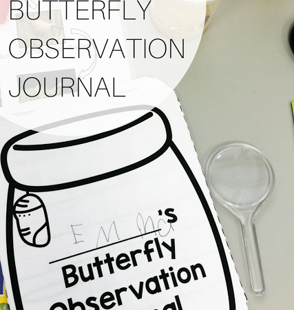 Butterfly Observation Journal Freebie