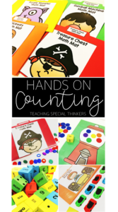 HANDS-ON COUNTING WITH MATH MATS