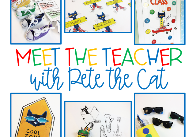 Meet the Teacher with Pete the Cat