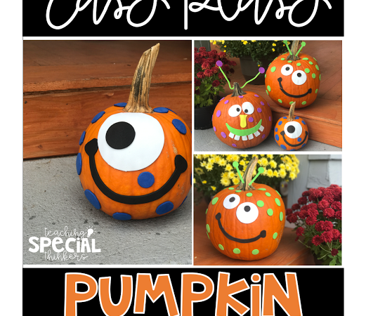 Easy Peasy Pumpkin Monsters