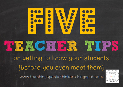 Be Proactive: Getting to know your students {before you actually meet them}