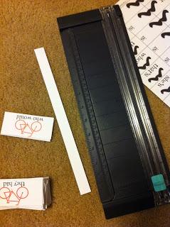 Quick Teaching Tip – Paper Cutter