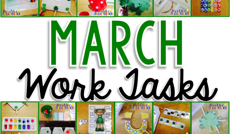 March Work Tasks for St. Patty's Day