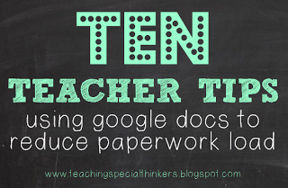 Be Proactive: 10 ways to use Google Docs to collect and store data!