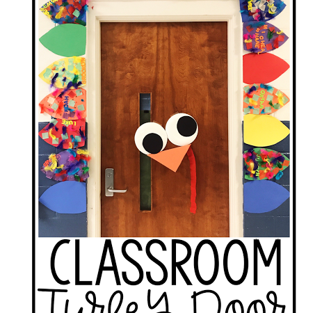 Turkey Classroom Door