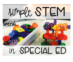 Simple STEM Activities for SPED Students