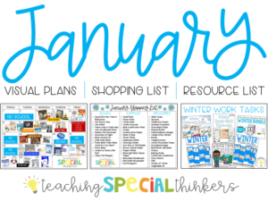 January Visual Lesson Plans