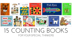 15 Counting Books for Special Thinkers