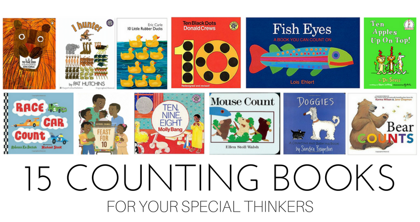 10 Red Flags In Special Education >> 15 Counting Books For Special Thinkers Teaching Special Thinkers