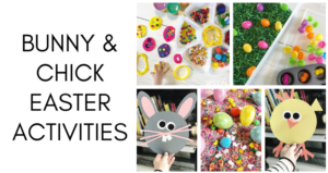Bunny & Chick Easter Activities