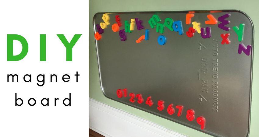 Diy Magnet Board Teaching Special Thinkers