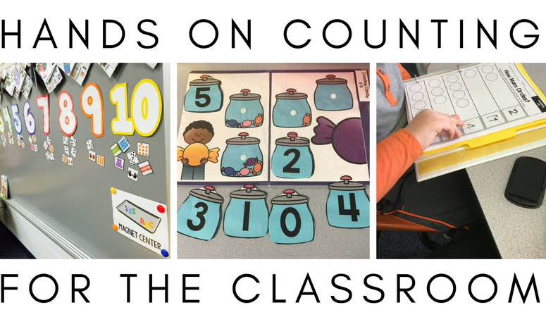 Hands On Counting Activities for the Classroom