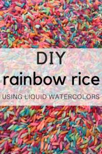rainbow rice bin