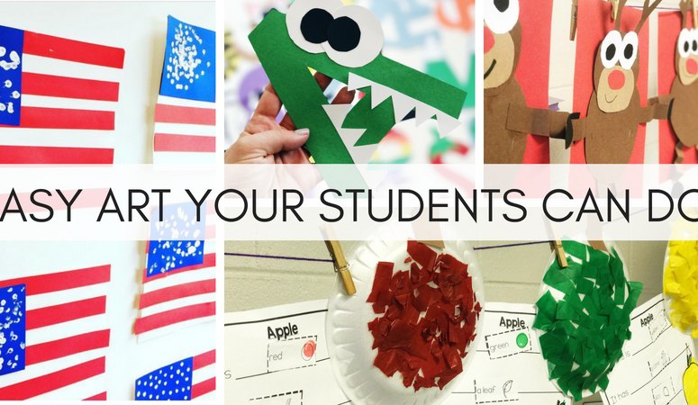 Art Activities Your Students CAN Do!