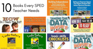 Ten Books Every SPED Teacher Needs