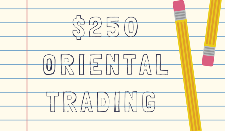 Oriental Trading Gift Card Giveaway!