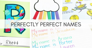 Perfectly Perfect Names: Celebrating Students' Names With Chrysanthemum