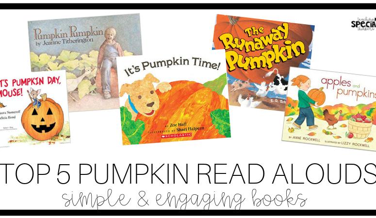 Top 5 Pumpkin Read Alouds