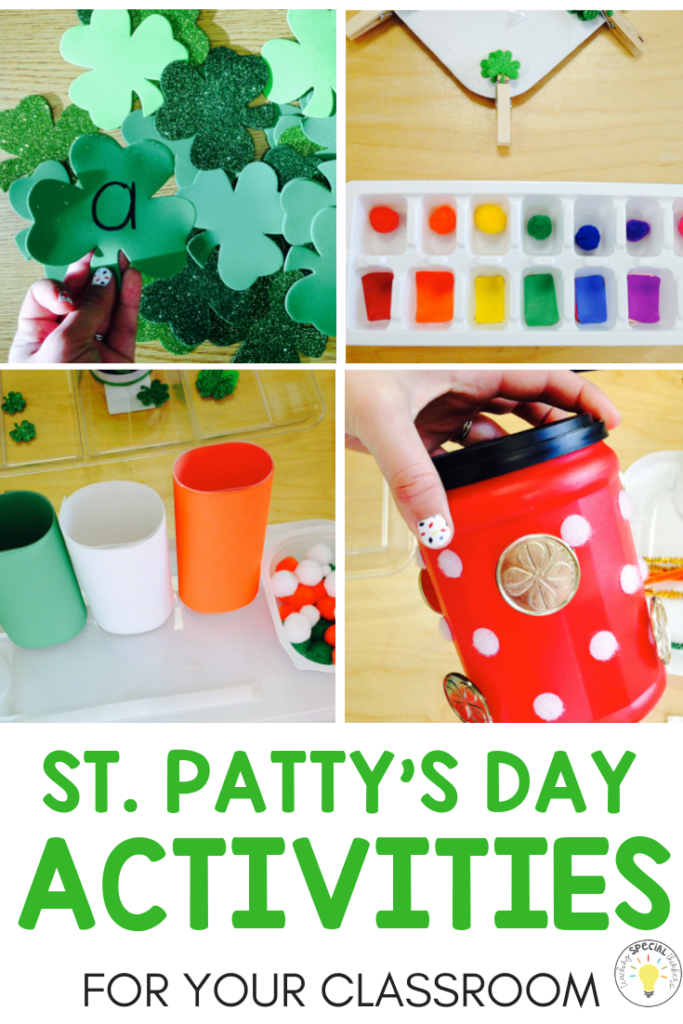 st pattys day activities for kids
