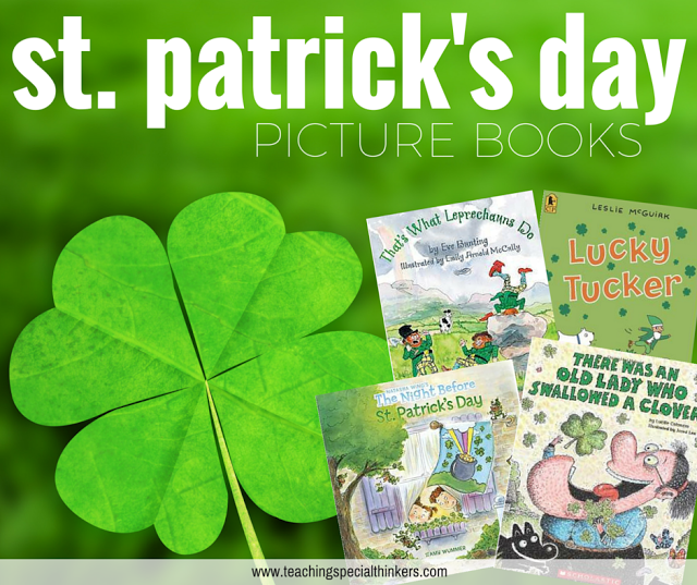 st patricks day picture books