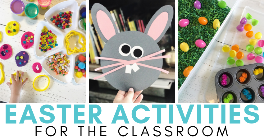 easter activities for the classroom