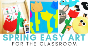 Spring Easy Art Crafts for Kids